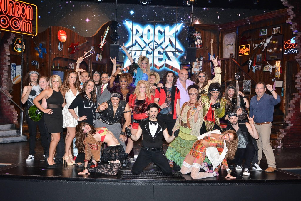 Rock of Ages Breakaway Cast